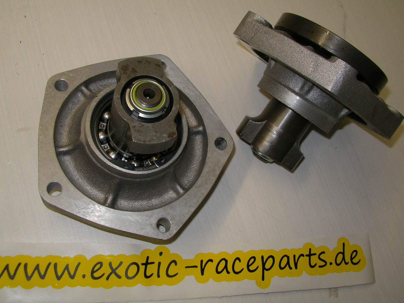 Gearbox Stubaxle Kit With Cv Flange Big Differential