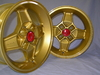 CD 30 wheel set, gold