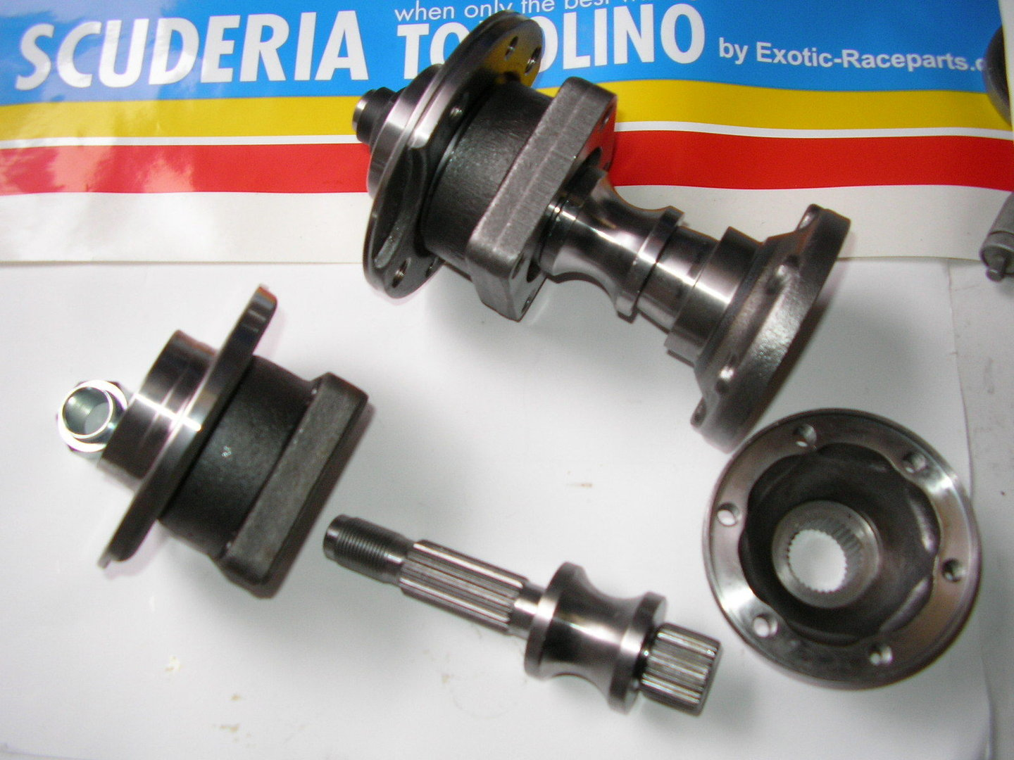 Tubulare Trailing Arm Stub Axle With Cv Flange Set Fiat