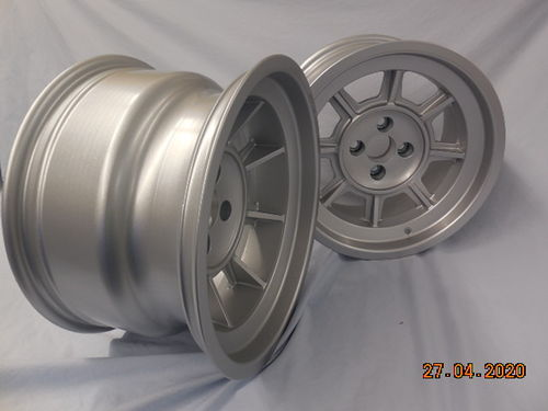 group 4 Wheel 9x15 ET24 for Fiat 124-131 Abarth